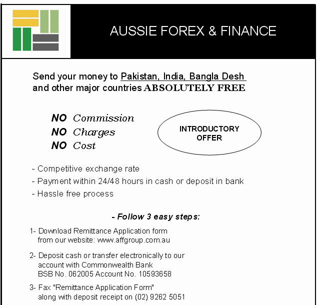 Aust forex finance pty ltd