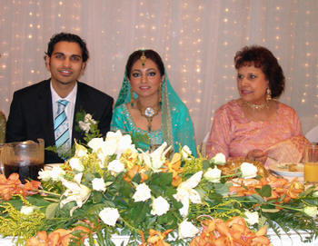 Rubina Ashraf wedding